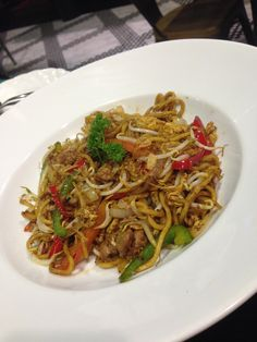 Fried #noodle, a little bit sweeter than i expected
