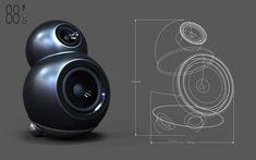 Despite the power of CAD software, loudspeaker design still requires the skills of a knowledgeable human. Audio, Industrial Design Sketch, Speaker Design, Key Design, Sketch Design, Loudspeaker, Lighting Design, 3d Printing, Headphones