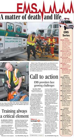 EMS: Saratoga County EMS providers face growing challenges