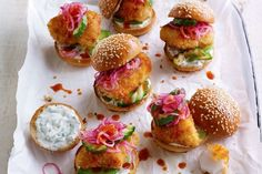 These bite-sized fish sliders invented by Jamie Oliver are nothing short of delicious. Perfect for end-of-week dinners, these mini-burgers are just what family want.