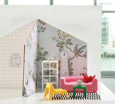 IKEA Launches Mini 'Dollhouse' Versions Of Its Iconic Furniture Miniature Furniture, Dollhouse Furniture, Ikea Furniture, Modern Furniture, Furniture Catalog, Antique Furniture, Malm, Ikea 2014, Ikea Dollhouse