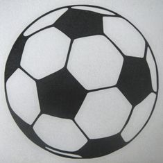 Soccer Decal Just Soccer Ball by MadeyGear on Etsy, $3.50