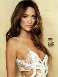 Ohh if only I were a lesbian.. Olivia Wilde, you'd be mine.
