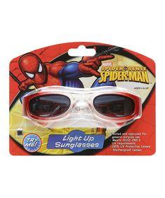 Love this Spider-Man Light-Up Sunglasses on #zulily! #zulilyfinds