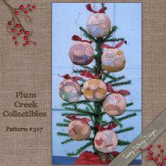 Nativity Christmas Ornaments Embroidery Pattern #317