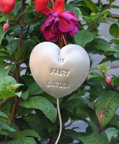 My Fairy Garden  Garden Marker Garden Stake Plant by AngelfishLove, $14.00