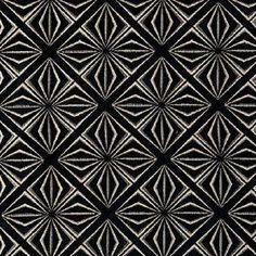 "Clarke & Clarke - ""Samba"" fabric in Ebony"