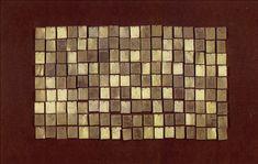 Superfície Farfalhante II 1967 | Aluísio Carvão chapas de metal, pregos e óleo sobre madeira 54.00 x 86.00 cm