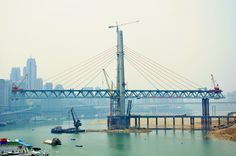Chongqing, Building a Bridge Chongqing, In China, Bridge, The Incredibles, Building, Amazing, Places, Pictures, Travel