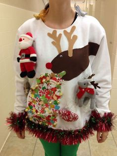 Left it to the Last Minute? DIY Your Own Ugly Christmas Sweater 3 - https://www.facebook.com/diplyofficial