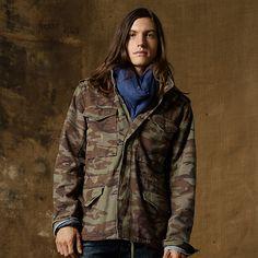 フェイデッド カモ ジャケット ・ メンズ ジャケット & アウター ・ アパレル ・ メンズファッション通販 | Denim & Supply - Ralph Lauren Japan (ラルフローレン)