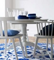 Blue and white ; ). Yes!