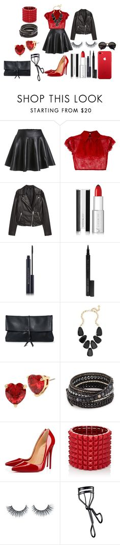 """Margarita"" by afia-asamoah on Polyvore featuring N°21, H&M, Givenchy, Giorgio Armani, Kendra Scott, Betsey Johnson, Chan Luu, Christian Louboutin, Valentino and NARS Cosmetics"