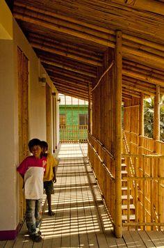 Centro Juvenil en Camboya: el Bambú al servicio de la Comunidad.
