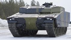 New variant of our CV90 Armadillo delivered to Denmark in 2013 for testing