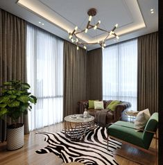 Taking Interiors to the next level? Here's a luxurious, high-end Interior design transformation of a Residential Home. Empire Design, Residential Interior Design, Dining Decor, Design Ideas, Interiors, Curtains, Stone, Luxury, Home Decor