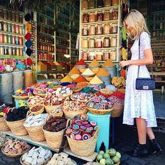 """Tuulavintage- """"Missing the endless colours of Marrakech"""""""