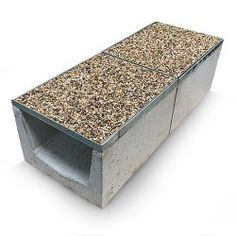 Gravel Top Channel Drain - All About Rock Drainage, Backyard Drainage, Drainage Channel, Top Channel, Drainage Solutions, Gravel Patio, French Drain, Tile Patterns, Garden Planning