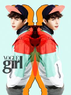Vogue Girl - Pink Wings Project - Lee Jong Suk - Soompi France