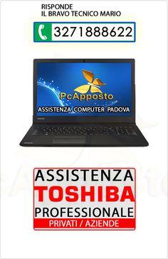 Centro asistenza notebook notebook Toshiba per privati ed aziende. Lavoro eseguito a regola d'arte preceduto da preventivo. Il Bravo Tecnico Mario