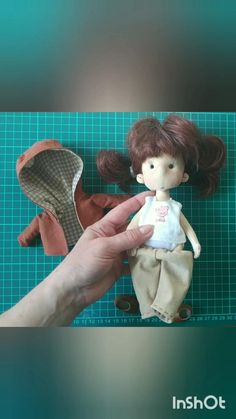 OOAK soft sculpture art doll, Cloth doll handmade, Doll-clothes can be removed, Soft textile crafted dolls, Tiny handmade fabric doll Little Doll, Doll Hair, Soft Sculpture, Art Dolls, Doll Clothes, Sewing, Handmade, Gifts, Etsy