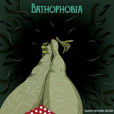 day 4 bathophobia fear depths sarahhedlunddesign - Phobia Halloween