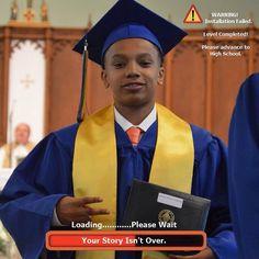 Level Up .  #BLESSED #graduation #classof2015 #gabe3x #youngestdoinit
