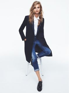 Anna Selezneva for Mango Fall 2013 Catalogue | FashionMention