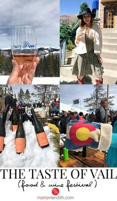 The Taste of Vail is one of my absolute all-time favorite events of the year. A food & wine festival like no other! MarlaMeridith.com #travel #vail #ski