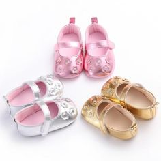 Raise Young Spring Summer PU Leather Baby Girl Princess Shoes Crystal Flower Newborn Baby Girl shoes Toddler First Walkers Toddler Girl Shoes, Baby Girl Shoes, Girls Shoes, Princess Shoes, Baby Girl Princess, Shoe Image, Crystal Shoes, First Walkers, Leather Flowers