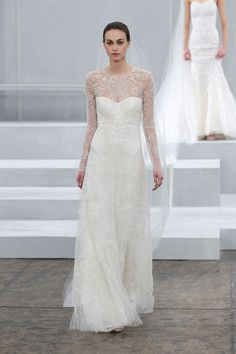 This bridal gown from Monique Lhuillier, is now available at Gigi's of Mequon!