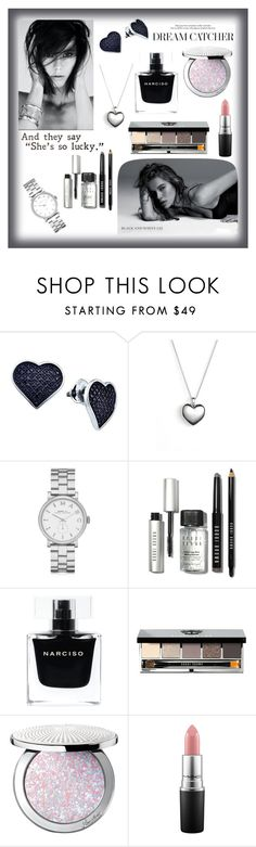 """Untitled #76"" by ekaterina-d-1 ❤ liked on Polyvore featuring beauty, BillyTheTree, Pandora, Marc by Marc Jacobs, Bobbi Brown Cosmetics, Narciso Rodriguez, Guerlain and MAC Cosmetics"