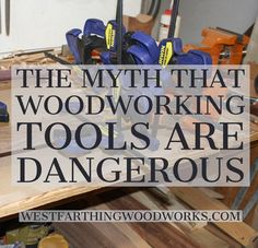 Are your tools dangerous, or are you? This is the real question, and the faster you take responsibility, the safer you will be. Used Woodworking Tools, Woodworking Logo, Beginner Woodworking Projects, Popular Woodworking, Woodworking Furniture, Woodworking Crafts, Woodworking Plans, Woodworking Education, Woodworking Jigsaw