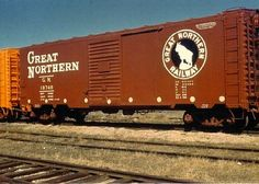 Great Northern Railroad, Train Info, Burlington Northern, Bonde, Pennsylvania Railroad, Rail Car, Train Pictures, Rolling Stock, Train Tracks
