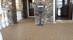 Stone flooring doesn't trap moisture.
