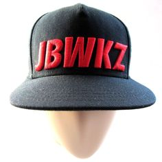 a8f253c3f5e Jabbawockeez Original Wocks Flat Fitty Luxury Headwear Snapback Black Red  Hat  FlatFitty  FlatCap
