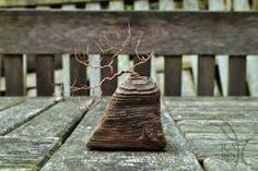 Image result for miniature copper wire bonsai trees