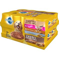 Pedigree Chopped Ground Dinner Wet Dog Food, Variety... @@ Please be sure to check out this awesome product. (This is an affiliate link and I receive a commission for the sales)
