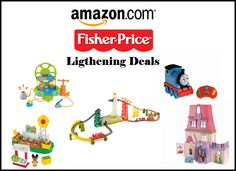 Amazon Fisher Price Toy Lightning Deals on 11/17
