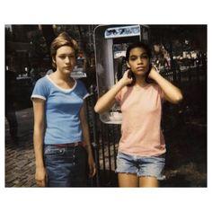 Chloe Sevigny and Rosario Dawson filming Kids in 1995.