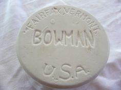 Bowman Pottery  Fairfax, Vermont  http://stores.ebay.com/Calliopes-Collectibles