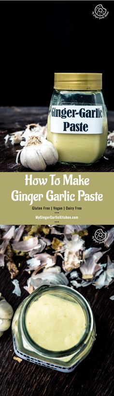 Recipe How to Make Ginger Garlic Paste | mygingergarlickitchen.com/ @anupama_dreams