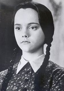 Everyone always said I looked like Wednesday Addams (Christina Ricci) when I was younger