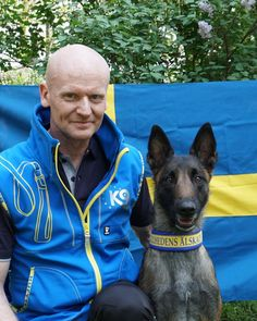Congratulations to the world title in Bikejoring. Bjarne o Asta groomed in K9 FMBB 2018 i Slovenien. 💪👍👌🇸🇪 - - - - - #k9 #k9competition #k9competitionsweden #bikejorning #dogpulling #draghund #dog #
