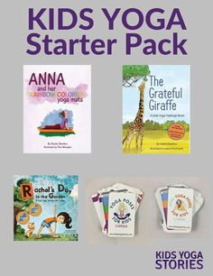 How do you get started with kids yoga? Learn, be active, and have fun with this Kids Yoga Starter pack - including 2 yoga cards and 3 yoga books for kids. Kids Yoga Poses, Yoga For Kids, Joy Of Yoga, Feelings Book, Healthy Lifestyle Habits, Essential Oils For Kids, Yoga Books, Yoga Lessons, Kids Story Books