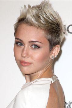 las celebrities con corte garçon y los productos de belleza necesarios para llevarlo: Miley Cyrus