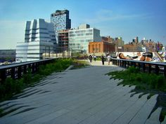 """the park in the sky"" New York's High Line Park. Incredible place!"