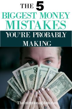 are 5 SUPER common money mistakes that most people make simply because they don't know they are. Join this free masterclass to find out if you are, and then how to FIX THEM! Ways To Save Money, Money Tips, Money Saving Tips, How To Make Money, Saving Ideas, Money Savers, Living On A Budget, Frugal Living Tips, Budget Travel