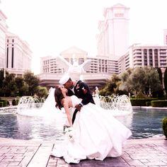 My navy SEAL dipping his bride  Wedding, kiss, dip kiss, navy seal wedding, military wedding