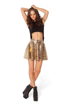 The Roth Skater Skirt - LIMITED by Black Milk Clothing $50AUD